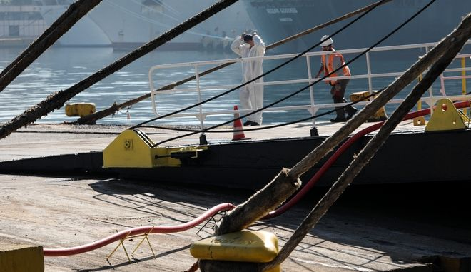 Δεμένα πλοία λόγω απεργίας. Φωτο αρχείου.