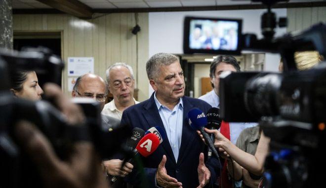 Ο πρέοδρος του ιατρικού Συλλόγου Αθηνών Γιώργος Πατούλης