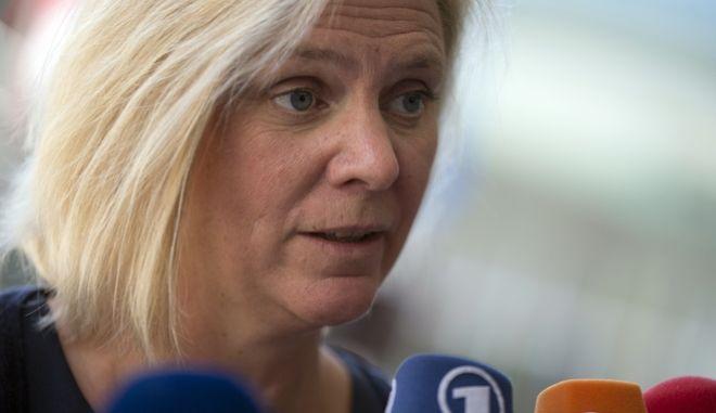 Σουηδία: Η νυν υπουργός Οικονομικών αναμένεται να γίνει η πρώτη γυναίκα πρωθυπουργός της χώρας