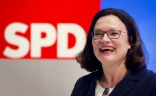Η Αντρέα Νάλες εξελέγη Πρόεδρος του SPD