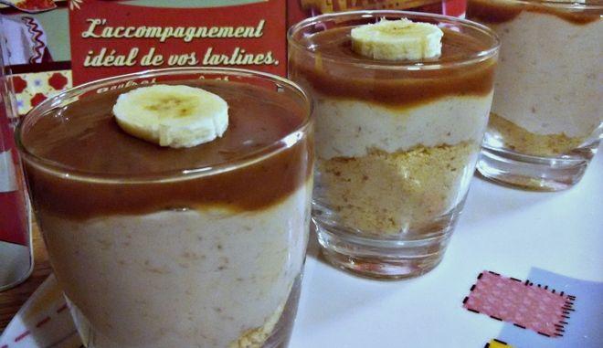 Κρέμα μπανόφι, με καραμέλα γάλακτος