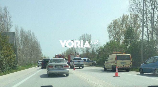 Τροχαίο δυστύχημα στο Κιλκίς - Ένας νεκρός και δύο τραυματίες