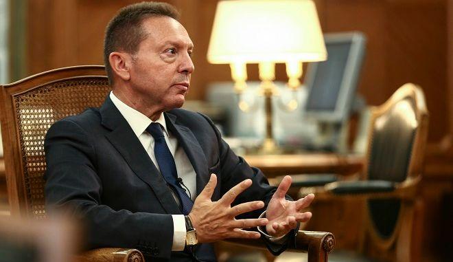 Ο Διοικητής της Τράπεζας της Ελλάδος Γιάννης Στουρνάρας
