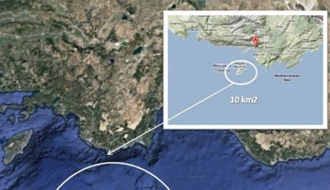 """Καστελόριζο: Τούρκος αξιωματούχος το """"εξαφάνισε"""" από τον χάρτη"""