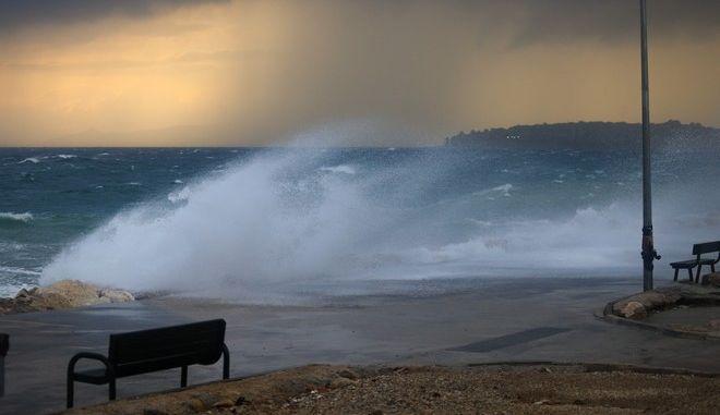 Ισχυροί άνεμοι στην Αττική
