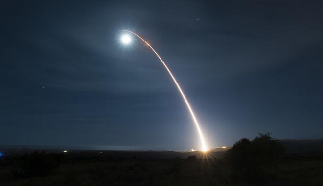 Η εκτόξευση του πυραύλου.