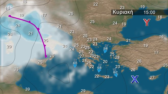 Καιρός: Συνεχίζονται οι βροχές - Πού θα είναι έντονα τα φαινόμενα τις επόμενες ώρες