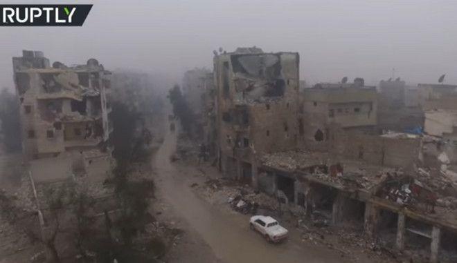 Χαλέπι ώρα μηδέν. Βίντεο από μια κατεστραμμένη πόλη