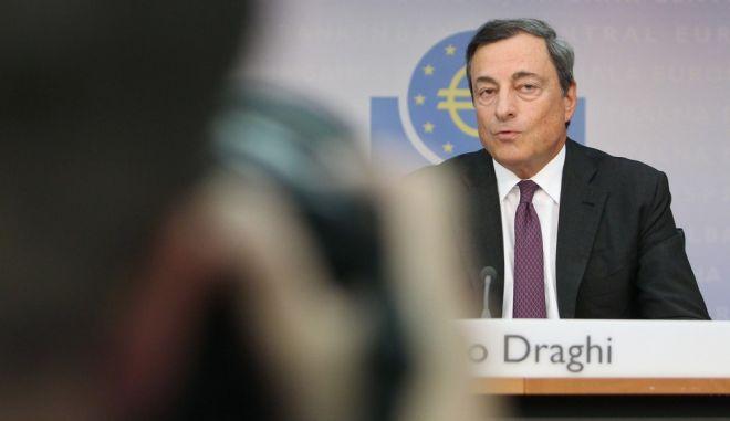 Ντράγκι: Πρώτα ολοκλήρωση του προγράμματος και μετά βοήθεια στην Ελλάδα