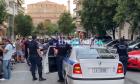 Ένταση σε διαδήλωση στη Θεσσαλονίκη.