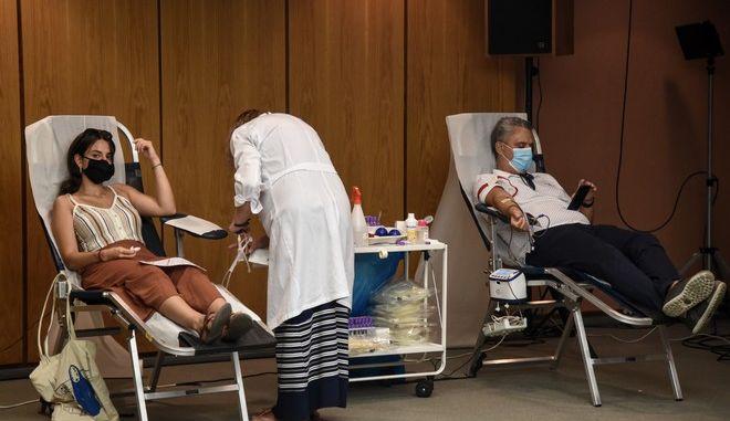 Έκτακτη εθελοντική αιμοδοσία στο Μέγαρο Μουσικής Αθηνών