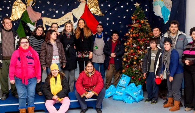 Χριστουγεννιάτικη δωρεά αγάπης από τους εργαζόμενους στην WIND