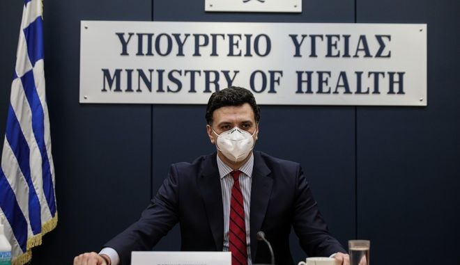 Ο Υπουργός Υγείας Βασίλης Κικίλιας. (EUROKINISSI/ΓΙΑΝΝΗΣ ΠΑΝΑΓΟΠΟΥΛΟΣ)