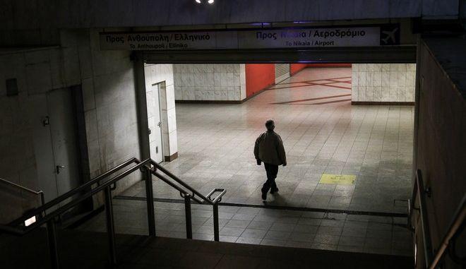 Εικόνα από την Αθήνα τον Νοέμβριο του 2020 σε καιρό lockdown