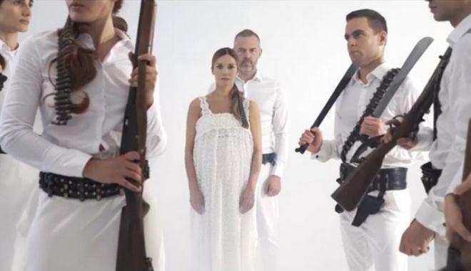 """Ιωάννα Παππά και Χρήστος Λούλης στον """"Χορό της φωτιάς"""""""