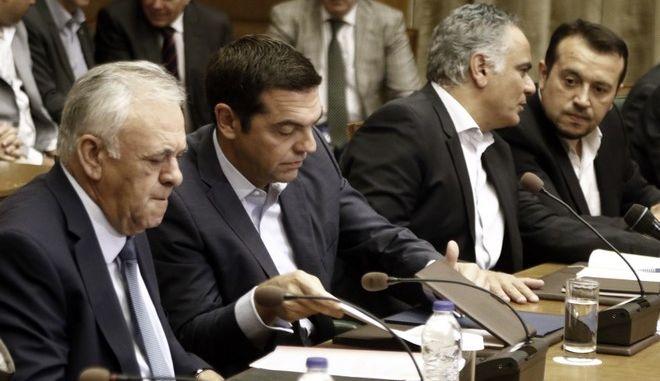 Συνεδρίαση του Υπουργικού Συμβουλίου την Δευτέρα 18 Σεπτεμβρίου 2017. (EUROKINISSI/ΓΙΩΡΓΟΣ ΚΟΝΤΑΡΙΝΗΣ)