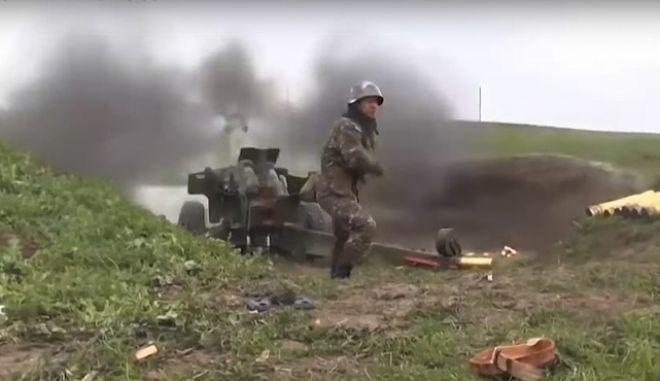 Στρατιωτικές δυνάμεις στο Ναγκόρνο Καραμπάχ