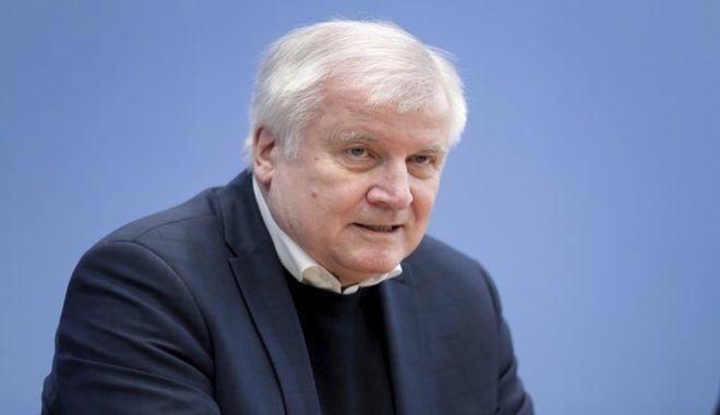 Ο υπουργός Εσωτερικών της Γερμανίας, Χορστ Ζεεχόφερ