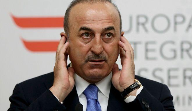 O Tούρκος υπουργός Εξωτερικών Μεβλούτ Τσαβούσογλου