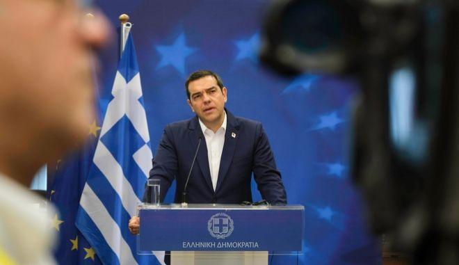Ο Πρωθυπουργός Αλέξης Τσίπρας στην δεύτερη ημέρα εργασιών του Ευρωπαϊκού Συμβουλίου στις Βρυξέλλες.