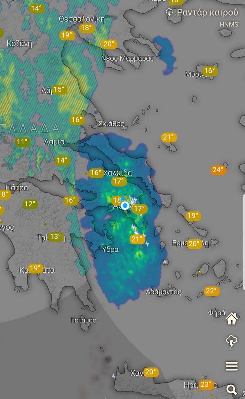 Σαρώνει η κακοκαιρία: Θυελλώδεις άνεμοι, καταιγίδες και προβλήματα σε όλη τη χώρα