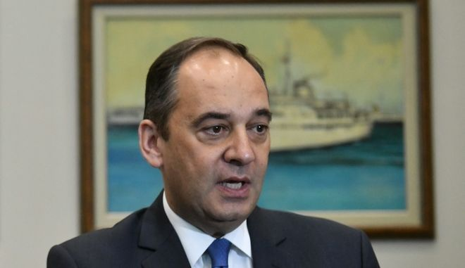 O υπουργός Ναυτιλίας και Νησιωτικής Πολιτκής Γιάννης Πλακιωτάκης