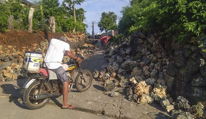 Δύο δονήσεις σημειώθηκαν με διαφορά μερικών ωρών στην επαρχία Μπατάν, ένα σύμπλεγμα μικρών νησιών ανοιχτά της Λουζόν, της μεγαλύτερης νήσου των Φιλιππίνων