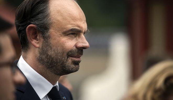 O πρωθυπουργός της Γαλλίας, Εντουάρ Φιλίπ