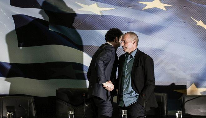 Meeting between Yanis Varoufakis and Jeroen Dijsselbloem, at the Ministry for Finance, in Athens, on Jan. 30, 2015 /       Jeroen Dijsselbloem,  ,  30 , 2015