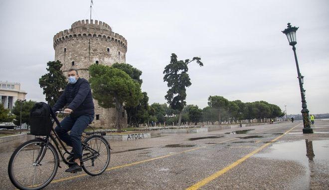 Θεσσαλονίκη άδεια πόλη