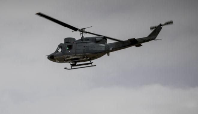 Ελικόπτερο Agusta Bell-205 της Πολεμικής Αεροπορίας