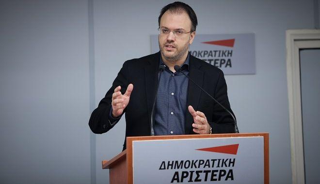 Ο πρόεδρος της ΔΗΜΑΡ Θανάσης Θεοχαρόπουλος