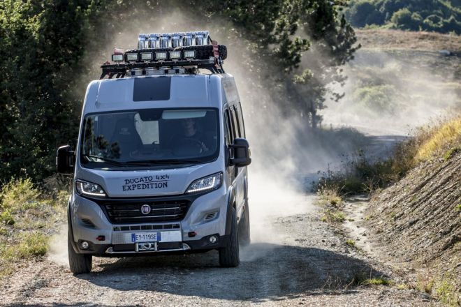 H Fiat αποκάλυψε το Ducato 4X4 Expedition