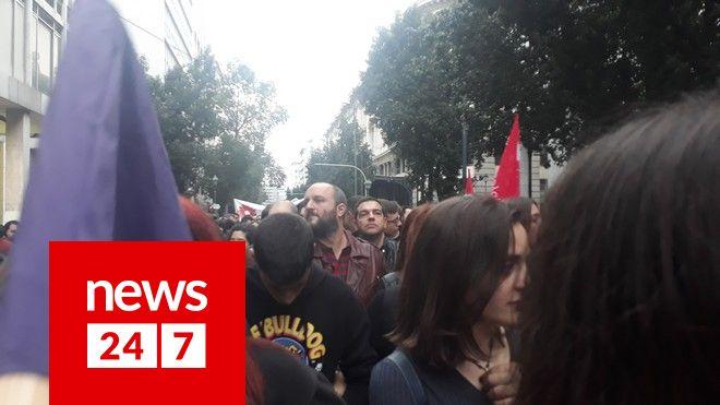 Ο Αλέξης Τσίπρας στη Νεολαία του ΣΥΡΙΖΑ