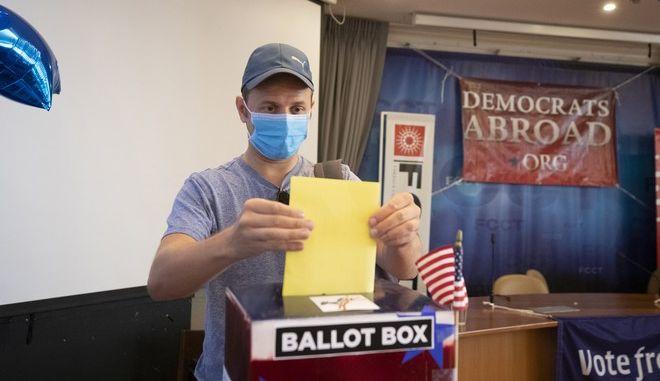 Ψηφοφορία για το  χρίσμα των Δημοκρατικών