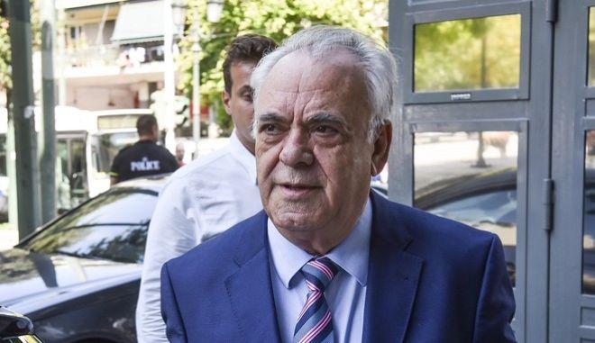 Ο αντιπρόεδρος της κυβέρνησης Γιάννης Δραγασάκης