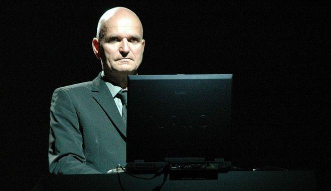 Ο Florian Schneider με τους Kraftwerk στην Ιταλία