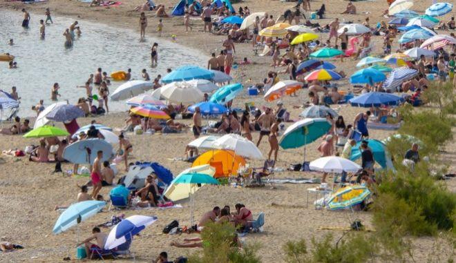 Παραλία στην Αττική