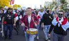 Πορεία διαμαρτυρίας στη Λευκορωσία κατά του Λουκασένκο