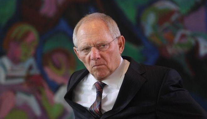 O πρώην υπουργός Οικονομικών της Γερμανίας Βόλφγκανγκ Σόιμπλε
