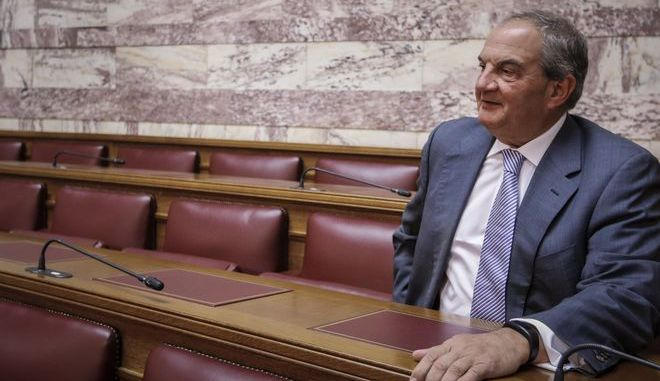 Ο πρώην πρωθυπουργός, Κώστας Καραμανλής