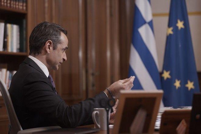 Ο Κυριάκος Μητσοτάκης σε συνέντευξή του στον ΣΚΑΙ