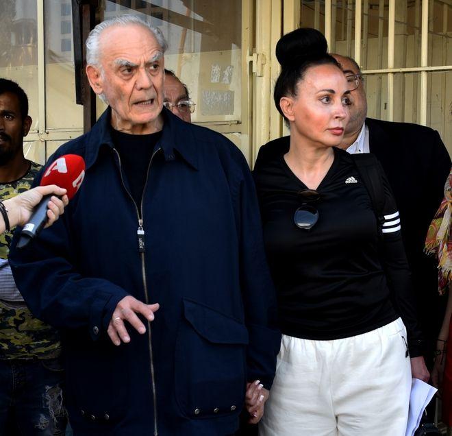Αποφυλάκιση του Άκη Τσοχατζόπουλου την Πέμπτη 4 Μαΐου 2017, από τις φυλακές Κορυδαλλού. (EUROKINISSI/ΤΑΤΙΑΝΑ ΜΠΟΛΑΡΗ)