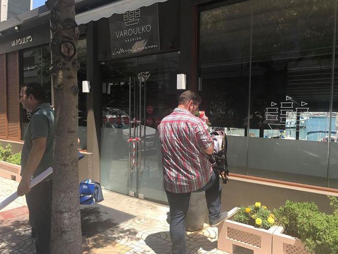 Λουκέτο στο γνωστό εστιατόριο Βαρούλκο