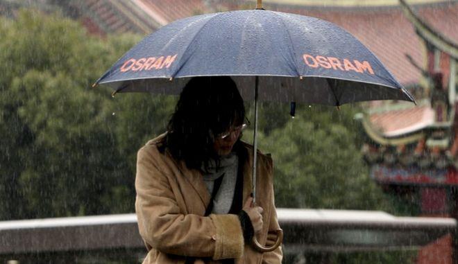 Μια γυναίκα στην Κίνα (φωτογραφία αρχείου)