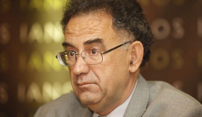 Ο δημοσιογράφος Γιώργος Δελαστίκ