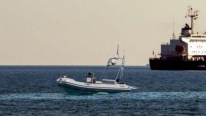 Παρουσίαση του μη επανδρωμένου σκάφους επιφανείας θαλάσσιας έρευνας και επιτήρησης Sea Rider.