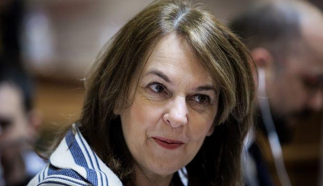 Η αναπληρώτρια τομεάρχης οικονομικών του ΣΥΡΙΖΑ Κατερίνα Παπανάτσιου