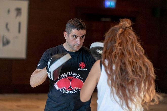 Μαθήματα πυγμαχίας από τον πρωταθλητή Χρήστο Γάτση και το Vizantinos Target Sport Club