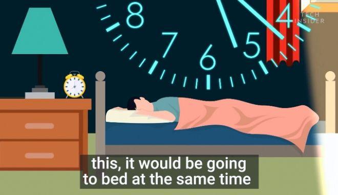 Πώς θα κοιμηθείς πιο εύκολα το βράδυ